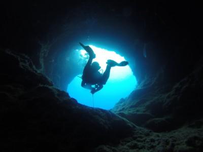 Пещерный голец обнаружен дайвером
