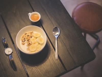 Утренние привычки. Завтрак