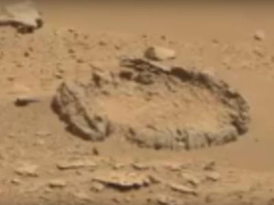 Необычное образование на Марсе