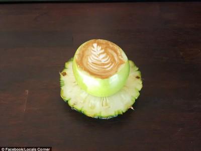 Кофе в яблоке
