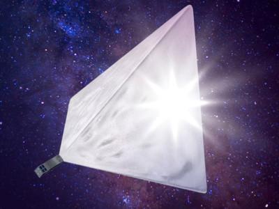Модель спутника «Маяк»