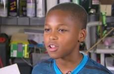11-летний мальчик спасает маленьких детей