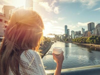 Восход солнца в Мельбурне