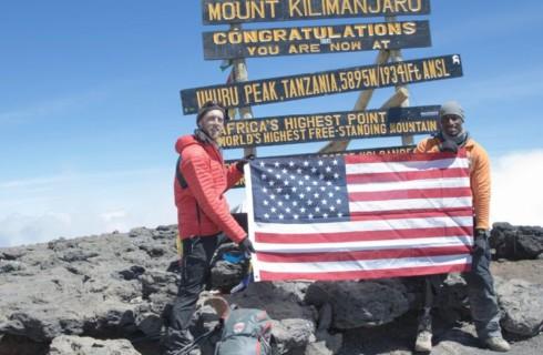 Ветеран покорил Килиманджаро