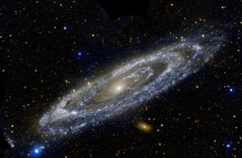 Андромеда – настоящий дом инопланетян