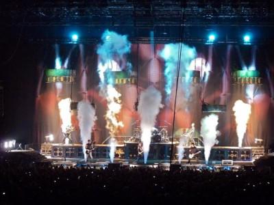 Выступление Rammstein
