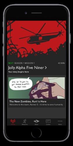 Зомби помогут бегать быстрее