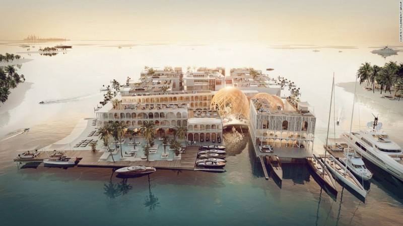 Дубай создает свою Венецию