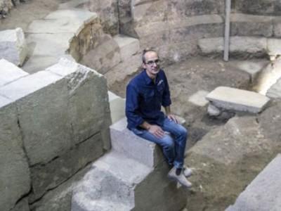 Раскопки древнего театра