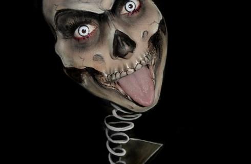 Лучшие варианты макияжа на Хэллоуин