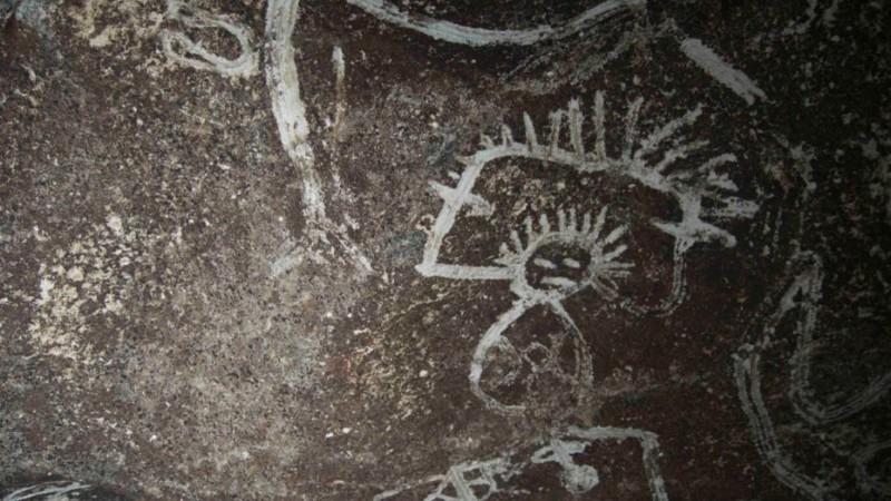 Рисунки нашли в пещерах на необитаемом острове