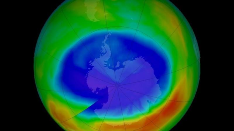 Озоновая дыра стала меньше!