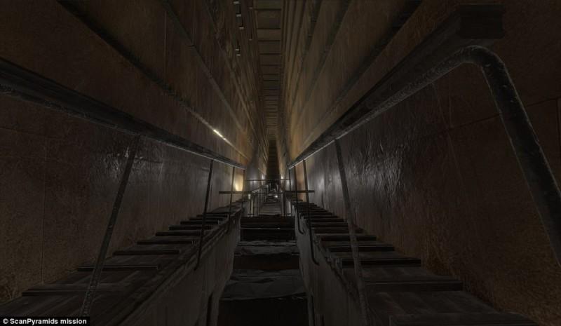 Пирамида Хеопса скрывала огромное пустое помещение