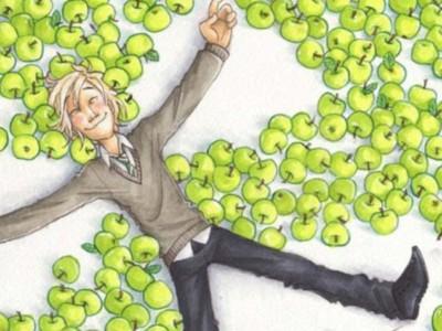 Драко Малфой и зеленые яблоки
