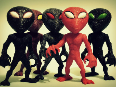 Фигурки инопланетян