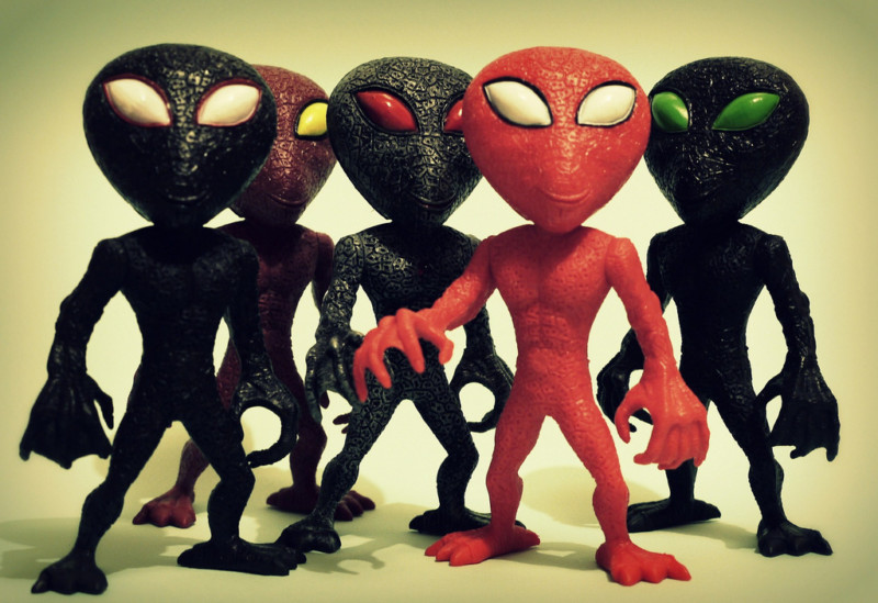 Инопланетяне похожи на людей