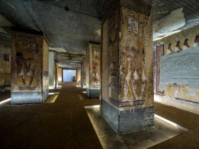 Копия гробницы Фараона Сети I