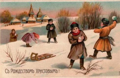 Топ-10 фактов о рождественских открытках
