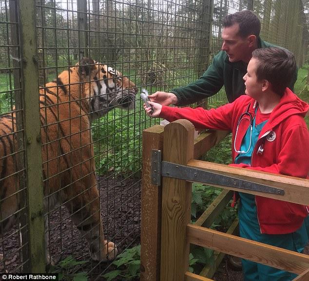 Больной мальчик получил шанс на выздоровление после зоопарка
