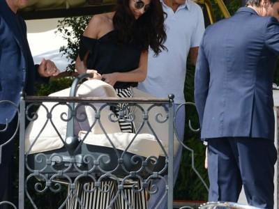 Джордж Клуни, Амаль и близнецы
