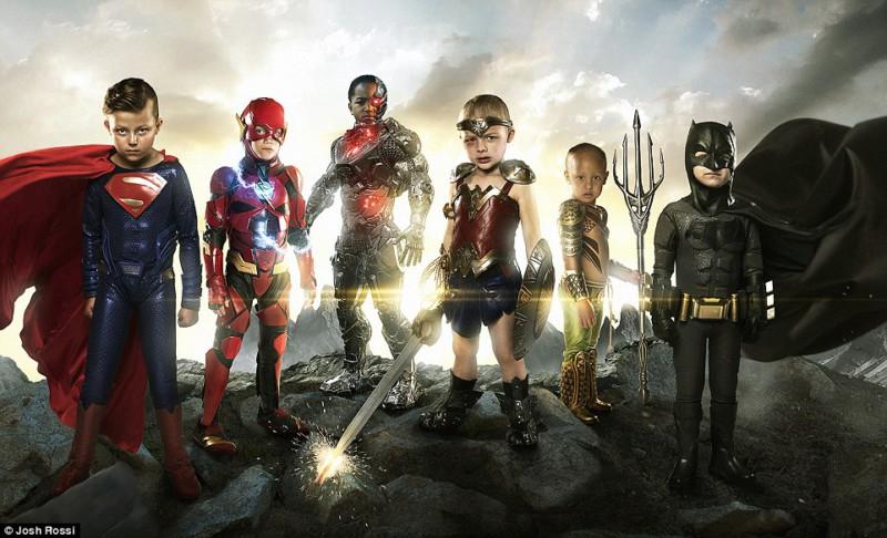Дети, больные раком, превратились настоящих супергероев