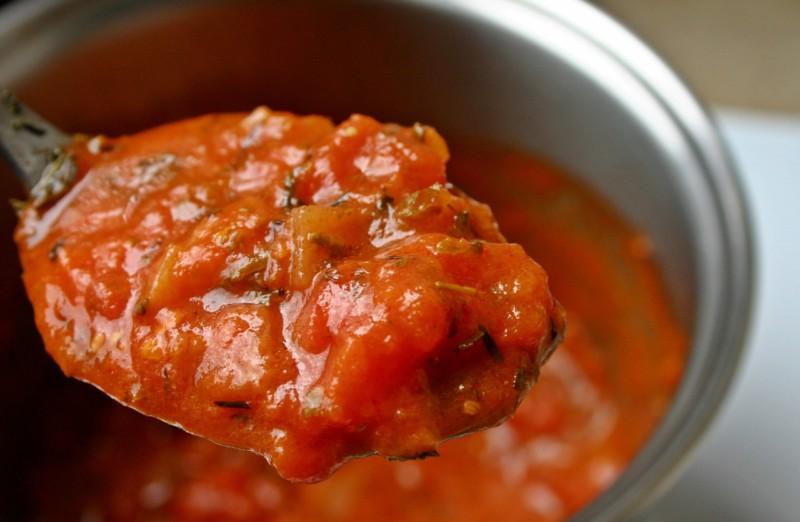 Способ приготовить совершенный томатный соус