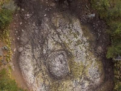 Модель Земли мезоамериканской культуры