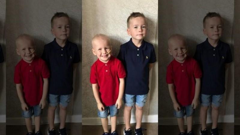 5-летний храбрец из Англии