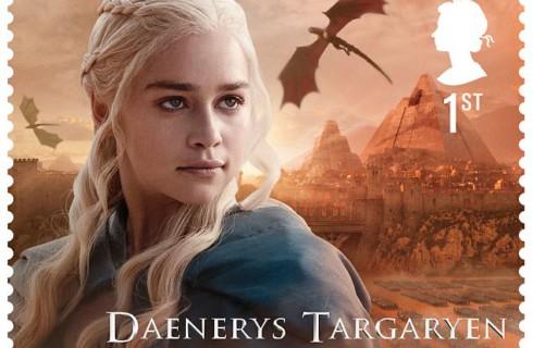 Сериал «Игра престолов» получил свой набор марок