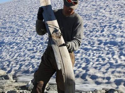 Древняя лыжа
