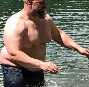 Иеремия Петерсон до похудения