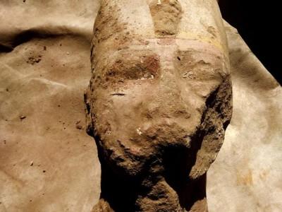 Недавно найденная голова Рамсеса II