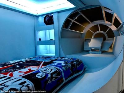 Кровать в стиле корабля «Тысячелетний сокол»