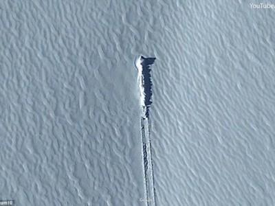 Необычный объект в Антарктиде