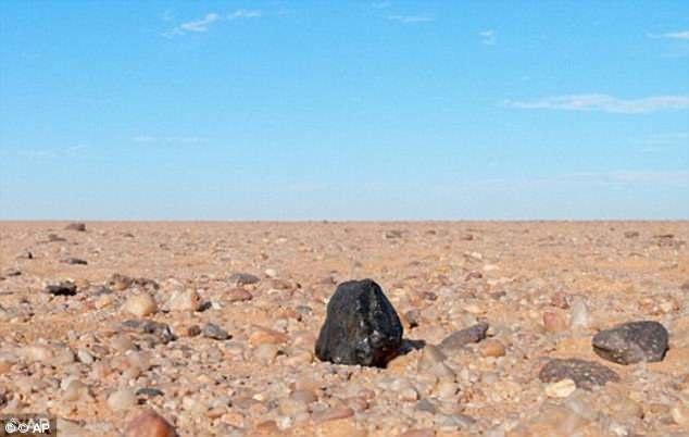 Метеорит принес на Землю алмазы с потерянной планеты