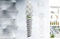 Небоскреб-оригами станет спасением во время стихийных бедствий
