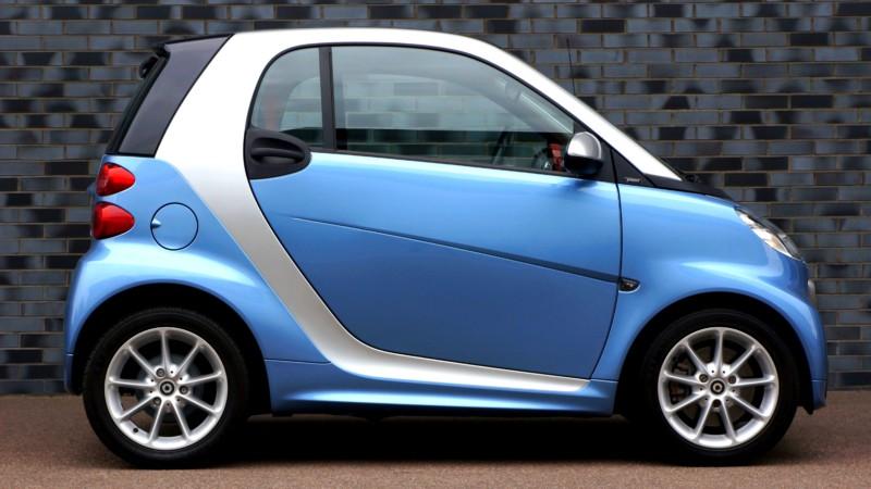Smart-автомобили пришлись по вкусу вандалам