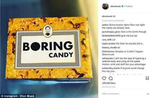 Илон Маск действительно сделал собственные конфеты?
