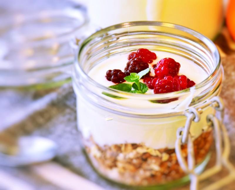 Йогурт поможет поправить здоровье
