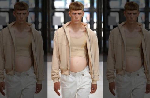 Новый тренд – беременные мужчины