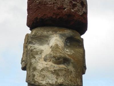 Моаи в пукао