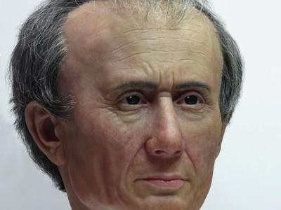 Реконструкция головы Цезаря