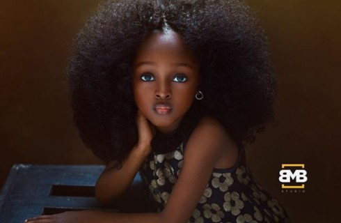 В Нигерии нашлась самая красивая девочка на планете