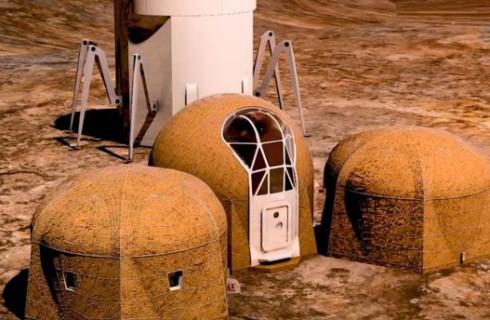Какими будут дома на Марсе