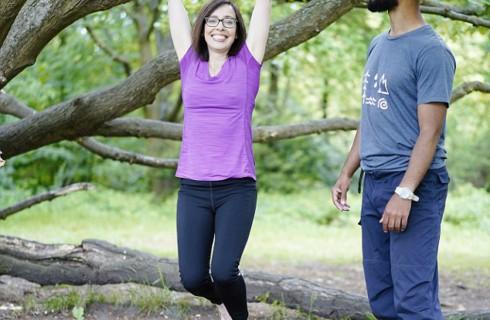 Лазание по деревьям становится новым видом спорта