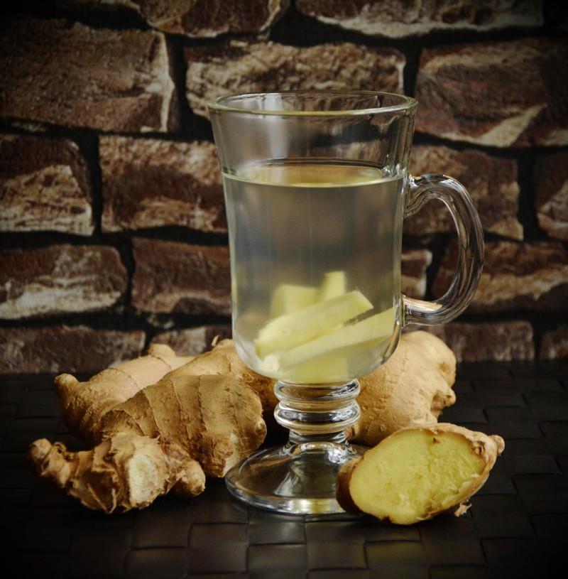 Имбирный чай избавит от неприятного запаха изо рта