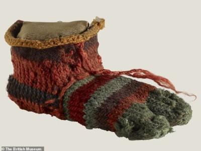 Древний египетский носок