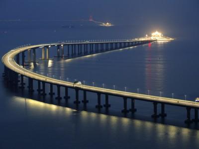 Самый длинный морской мост мира