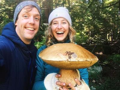 Гигантский белый гриб