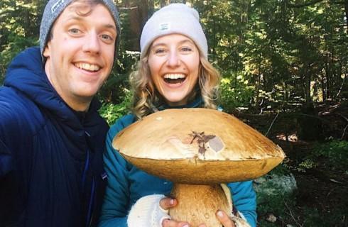 Ванкуверский гриб напугал пару грибников